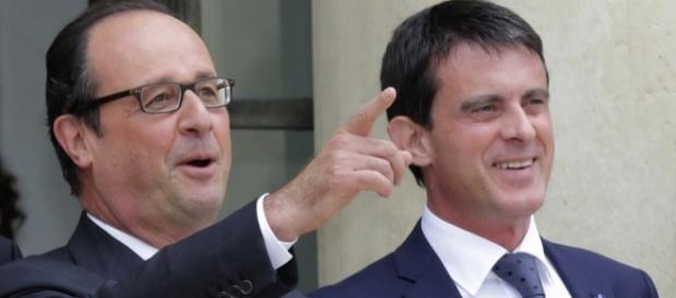 Hollande et Valls regardent-ils réellement dans la même direction ? Pas sûr, en politique les coups bas ne sont jamais loin.