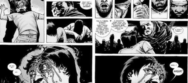 HQ de The Walking Dead que revelou a morte dos personagens