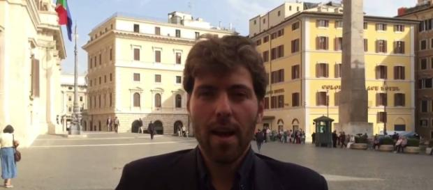 L'onorevole Adriano Zaccagnini, ex M5S e SEL, adesso nel Gruppo Misto