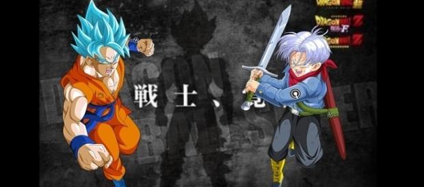 La imagen de una silueta seria la respuesta de la nueva fusión en Dragon Ball Super