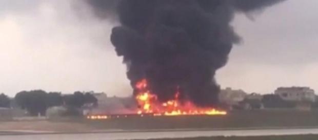 Malta, aereo si schianta dopo qualche minuto dal decollo