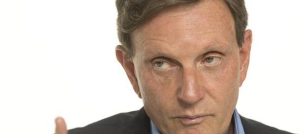 Marcelo Crivella, candidato a prefeito do Rio de Janeiro
