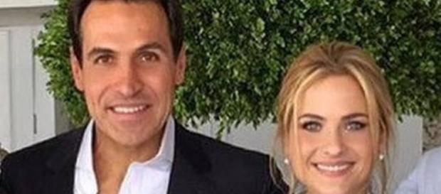 Mariano Marcondes e Luiza Valdetaro, sua esposa