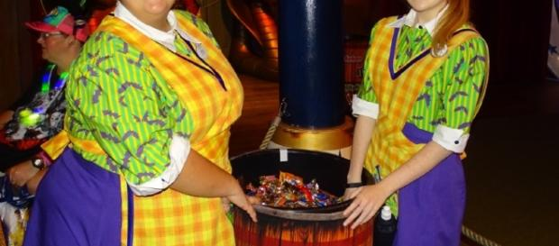 Nothing beats trick or treating at the Magic Kingdom (Photo by Barb Nefer)