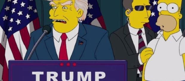 Puntata dei Simpson con Donald Trump
