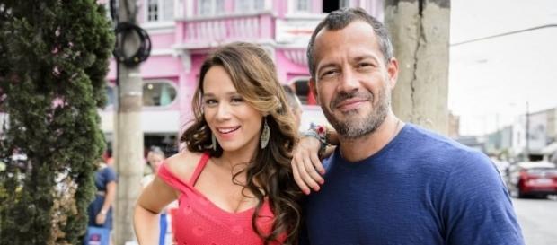 Tancinha e Apolo em 'Haja Coração' (Foto: Divulgação/TV Globo)