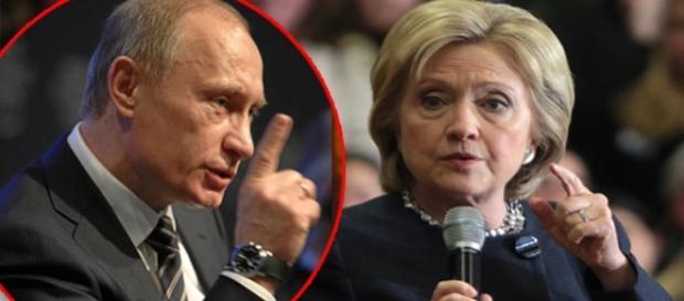 """Vladimir Putin o amenință pe Hillary Clinton să nu mai fie agresivă la adresa sa și a Rusiei, altfel """"vor exista probleme"""""""