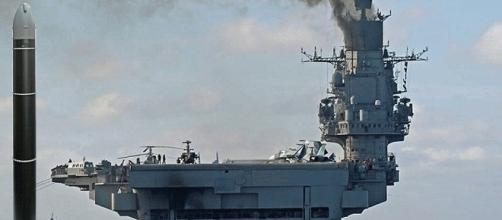 Alors que l'Amiral Kouznetsov se dirige vers la Syrie, la Russie a dévoilé son nouveau missile Satan-2
