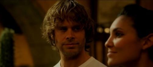 """Deeks (Eric Christian Olsen) and Kensi (Daniela Ruah) in """"NCIS: LA""""/Photo via screencap, """"NCIS: LA"""""""