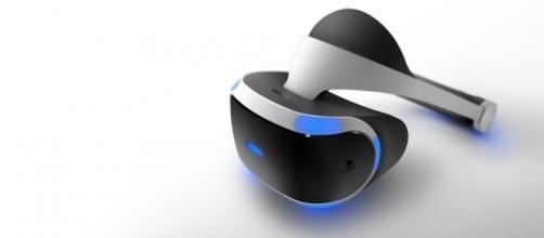 Imágen de la nueva play station VR