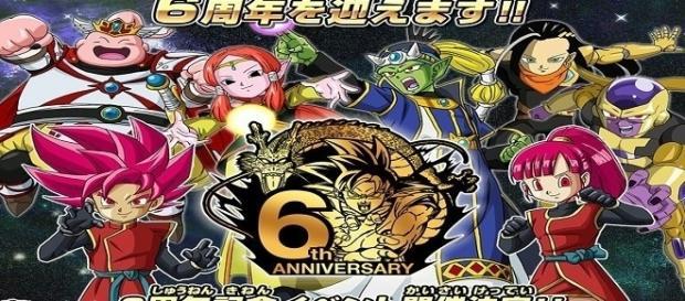 Anuncio del evento de los 6 años de Dragon Ball Heroes.