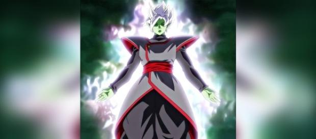 Aparición de la fusión de Goku Black y Zamasu en los avances del capítulo 64.
