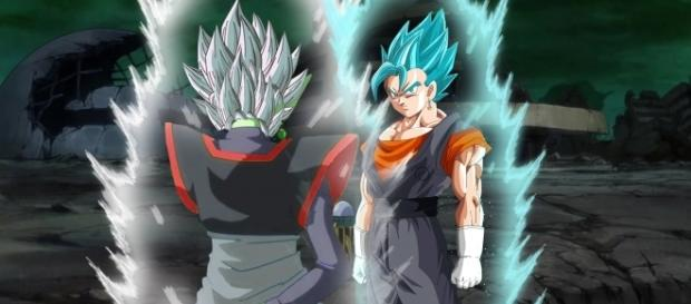Dragon Ball Super Capítulo 66 la aparición de Vegetto se Confirma La fusión de goku y Vegeta vs BlackMasu