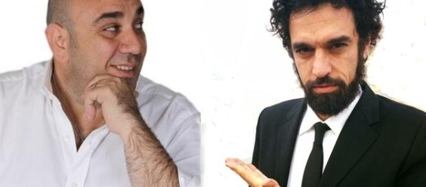 Giancarlo Garozzo e Dino Giarrusso