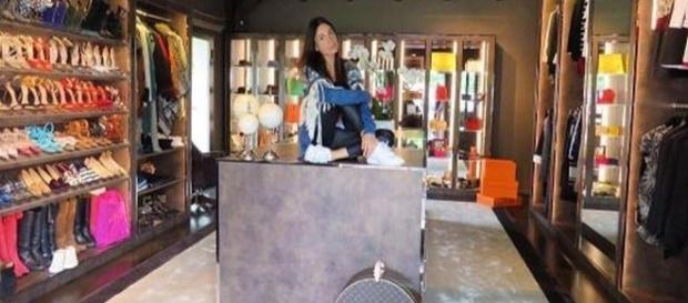 Giorgia Gabriele e il suo armadio vip