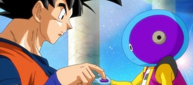 Goku would push the button, Zeno Sama to the rescue | DragonBallZ Amino - aminoapps.com