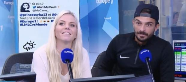 Julien et Jessica dévoilent combien ils gagnent par saison des Marseillais sur W9 (Capture Europe 1)