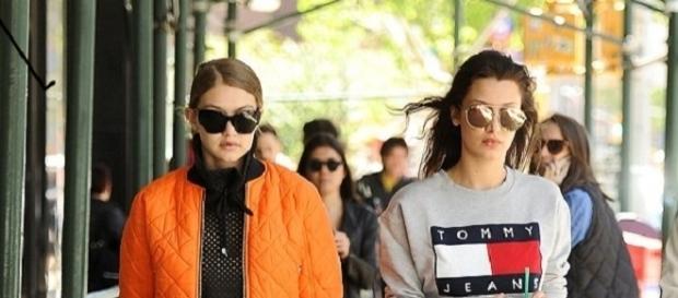 Le sorelle modelle Gigi e Bella Hadid.