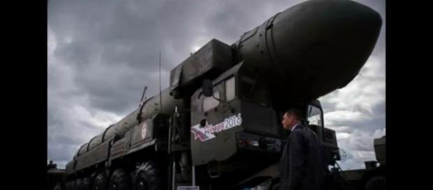 O novo armamento russo foi apelidado de Satan 2 (Crédito:YouTube/ShinDo)