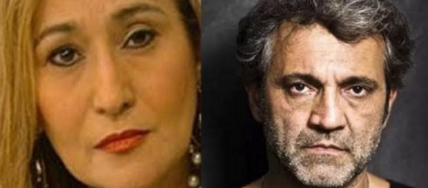 Sônia Abrão e Domingos Montagner