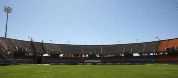 Stadio via del Mare, curva Sud