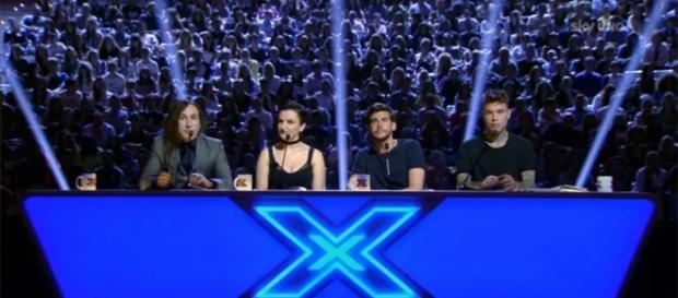 X Factor 10, i quattro giudici