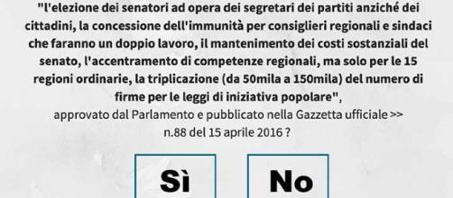 Referendum Costituzionale 4 Dicembre 2016