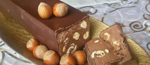 Torrone dei morti al cioccolato