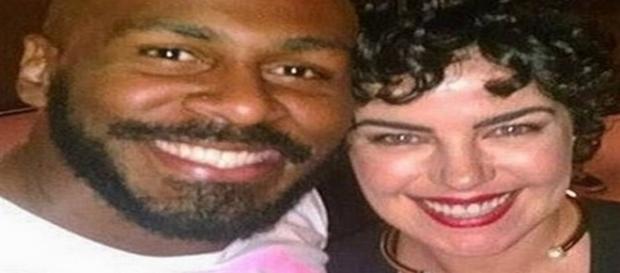 Ana Paula Arósio com o amigo e ator Taiguara Nazareth - Reprodução/Instagram