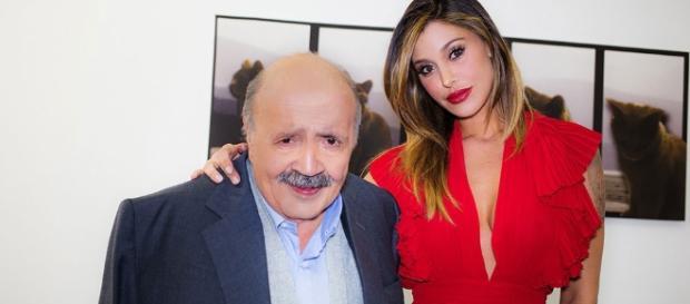 Belen Rodriguez Bomba Sexy, Senza Intimo al Maurizio Costanzo Show - ilcorrierecitta.com