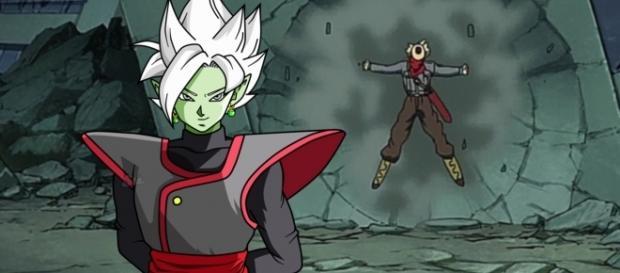Blamasu intenta exterminar a Trunks