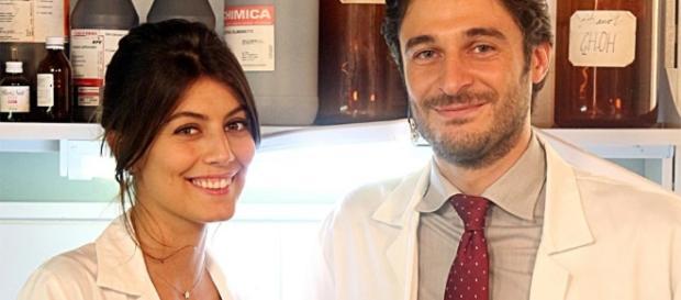 Claudio e Alice protagonisti de L'allieva.