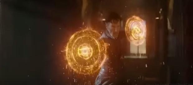 Doctor Strange TV spot screenshot taken by Andre Braddox