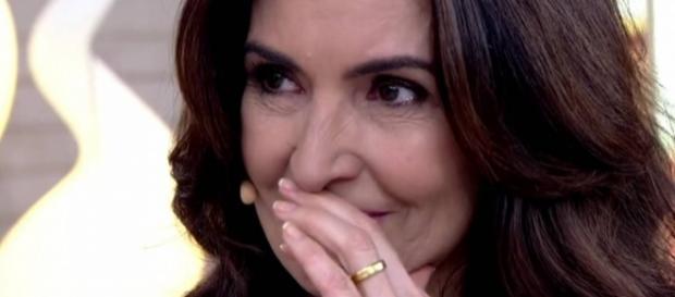 Fátima Bernardes não aguentou a emoção