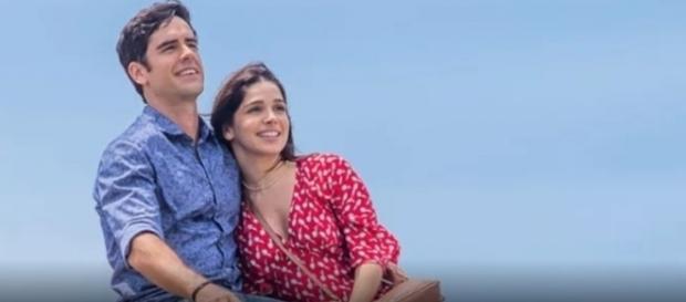 Felipe e Shirlei em 'Haja Coração'