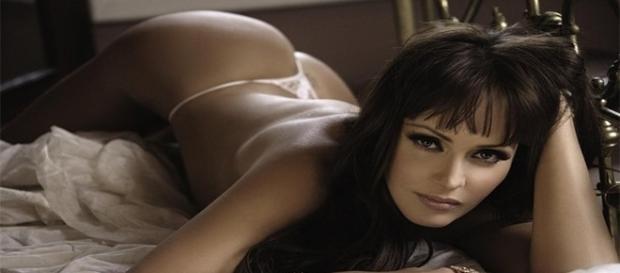 Gabriela Spanic protagoniza ensaio sensual.