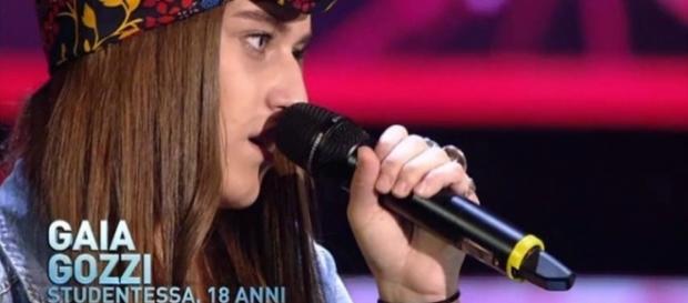 Gaia Gozzi, concorrente di X Factor 10