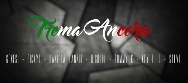 La copertina del singolo 'Trema Ancora'.