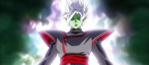 La fusión de Zamasu en el episodio 64 de la serie