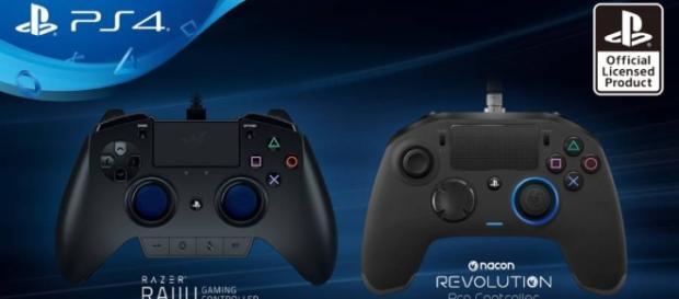 Les deux nouvelles manettes de l'éditeur Sony