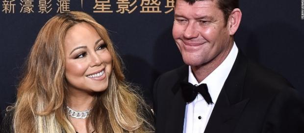 Mariah Carey and James Packer - Blasting New Library - CNN.com
