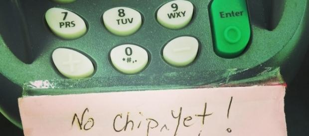 Merchants have been slow to adapt their technology to read chip cards. Photo via Flickr.