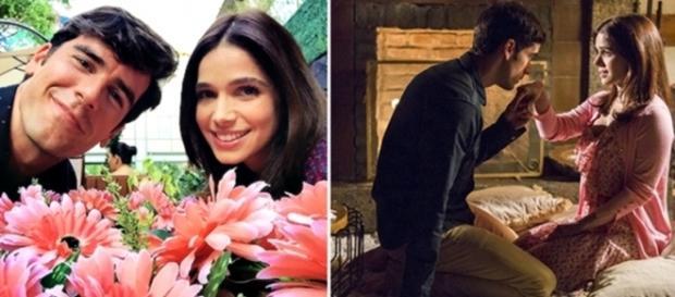 O casal 'Shirlipe' está fazendo mais sucesso do que os reais protagonistas de 'Haja Coração'