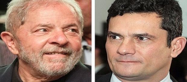 O ex-presidente Lula acusa o juiz federal Sérgio Moro e procuradores da Lava Jato sobre a quebra de direitos