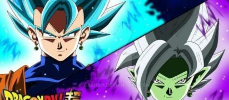 Vegetto y Zamasu(Fusión) - Fan Art