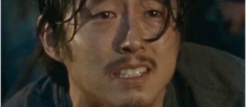 Brutal death: Glenn Rhee (Steven Yeun)