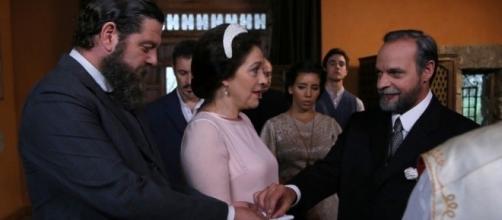 Il Segreto: Francisca e Raimundo, matrimonio falso