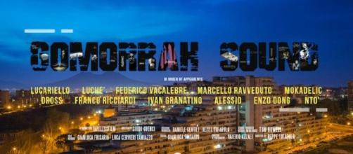 La locandina del documentario Gomorrah Sound