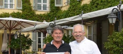 Max CARTIER et le Chef étoilé Jacques CHIBOIS