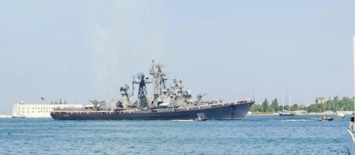 Navio escoltador Smetlivy da Frota do Mar Negro da Rússia aportará na Grécia